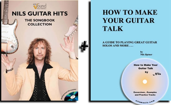"Nils ""Guitar Hits"" and ""How To Make Your Guitar talk"" books"