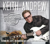 Keith Andrews CD Adventurous Soul